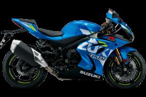 Suzuki GSX-R 1000 R, blau